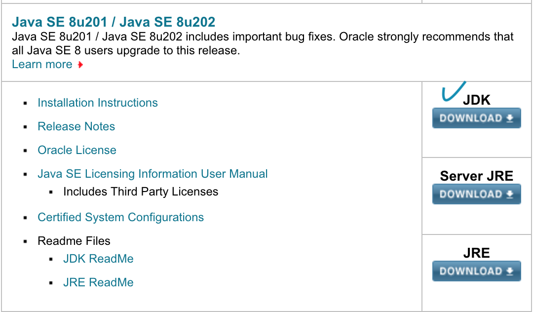 Oracle JDK
