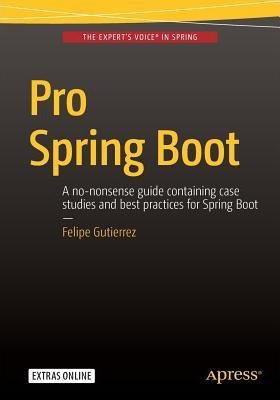 Pro Spring Boot, 이랬던 책의 표지가